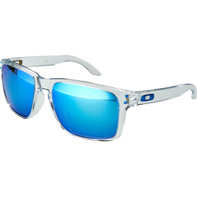 Oakley Holbrook XL Occhiali da sole, polished clear/prizm sapphire polarized